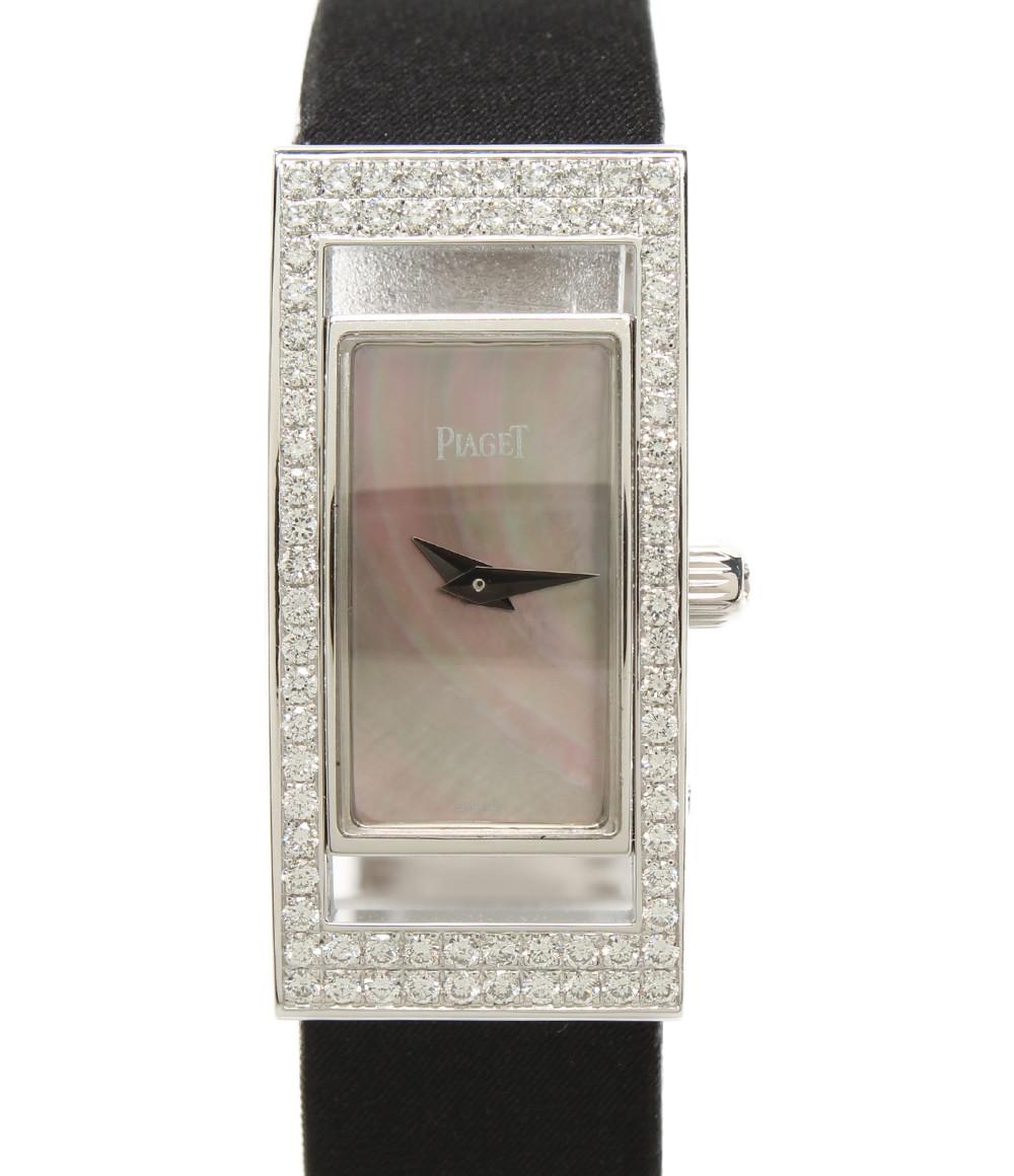 【中古】ピアジェ 腕時計 ライムライト レクタンギュラ クォーツ 54025 レディース PIAGET
