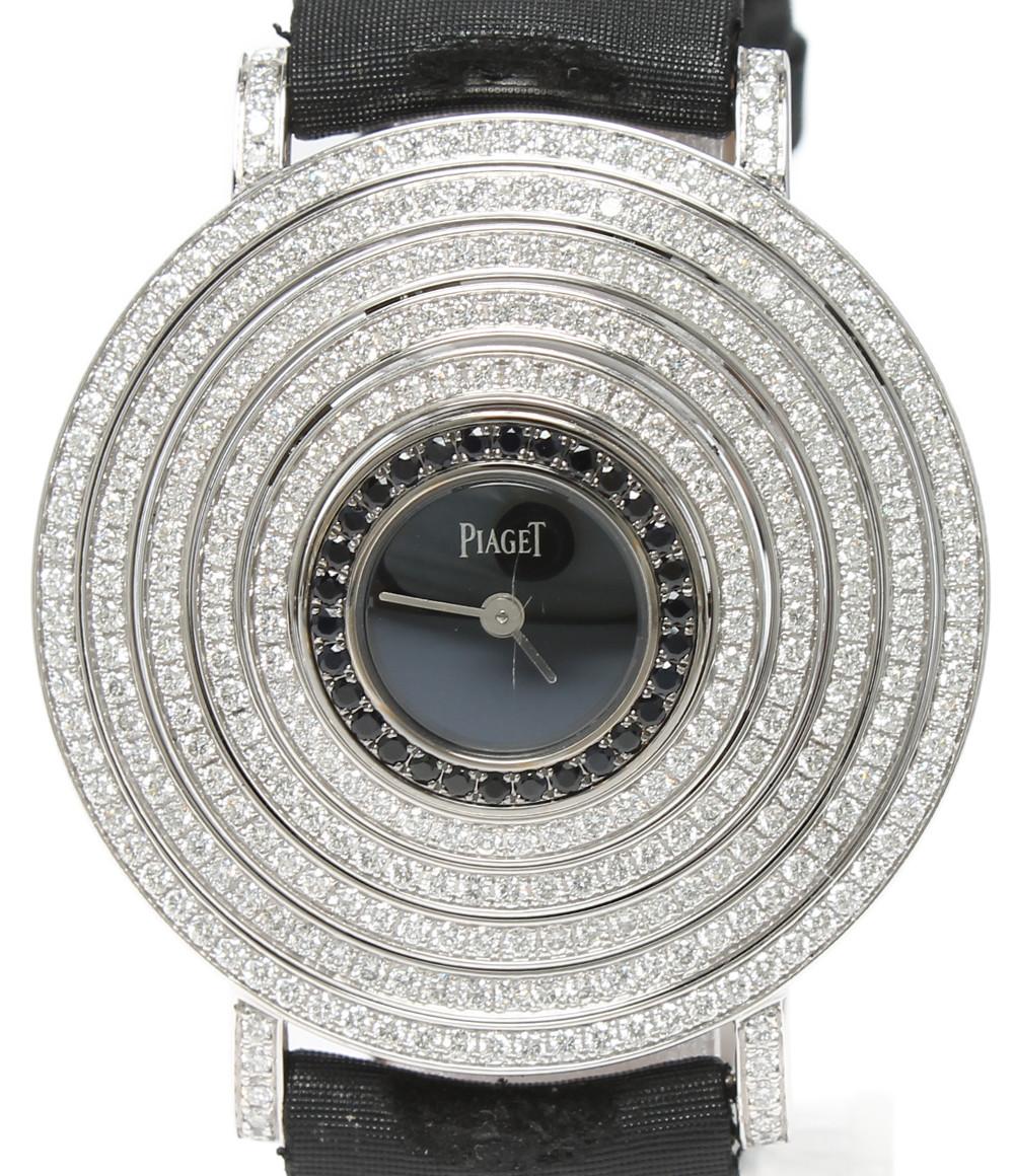 【正規逆輸入品】 【】ピアジェ 腕時計 K18WG ライムライトパーティー クオーツ ブラック G0A32166 P10484 レディース PIAGET, 最初の  46e275cb