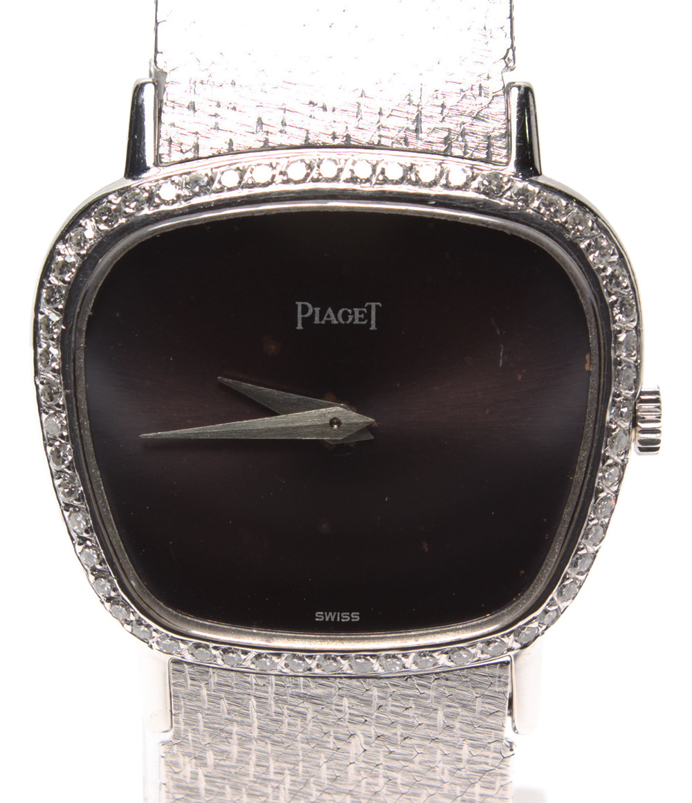 【中古】ピアジェ 腕時計 自動巻き レディース PIAGET