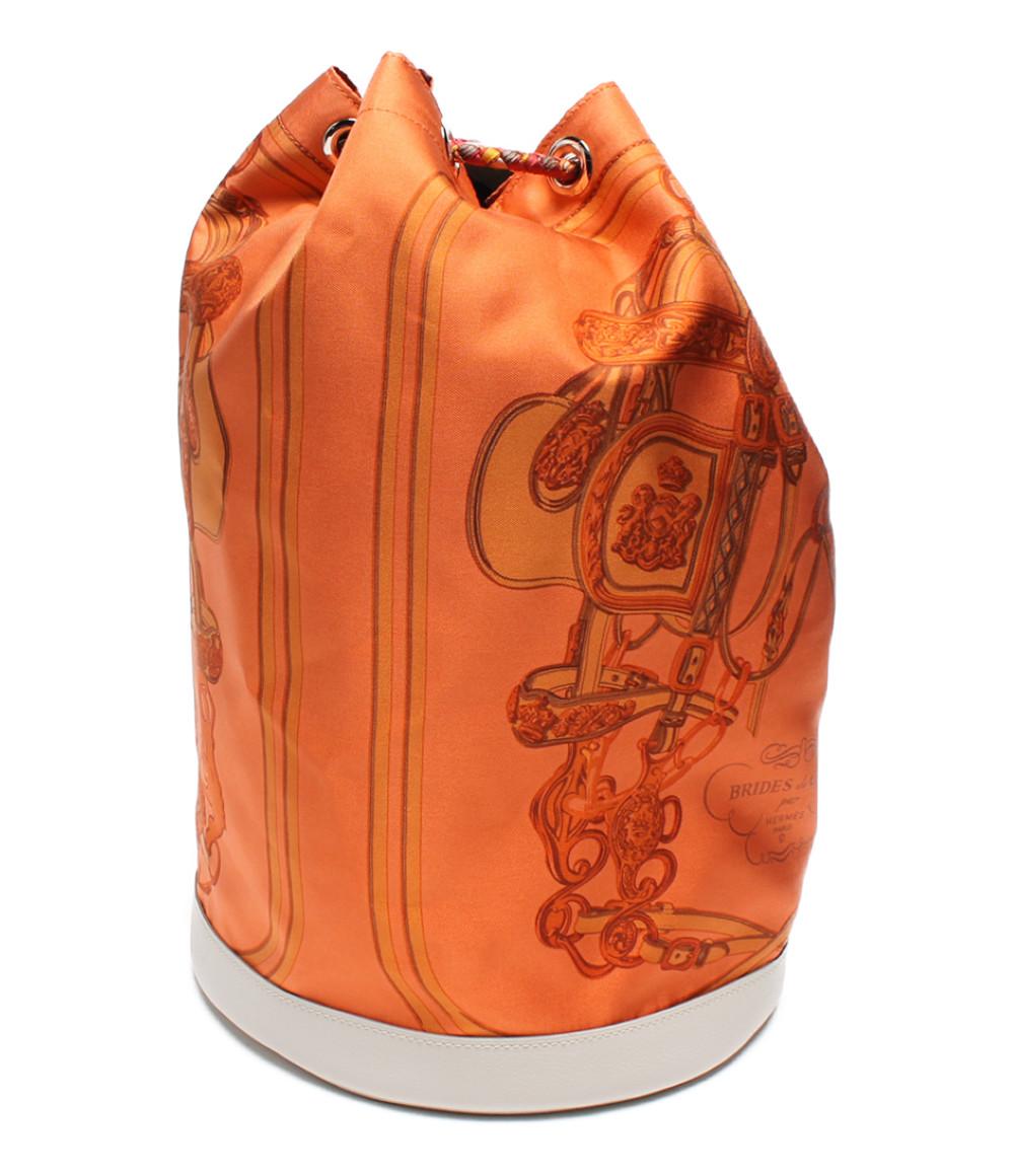 【5/5全品ポイント10倍】【中古】美品 エルメス 巾着バッグ ソワクール レディース HERMES