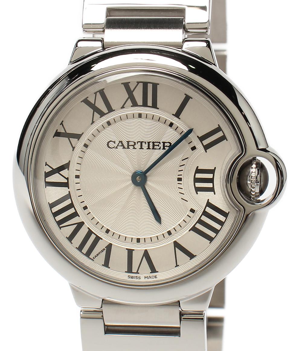 【中古】カルティエ 腕時計 バロンブルー クオーツ メンズ Cartier