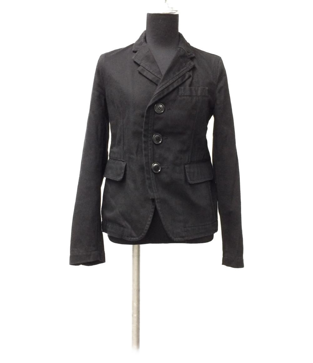 【中古】ブラックコムデギャルソン 3B テーラードジャケット AD2009 レディース SIZE XS (XS以下) BLACK COMME des GARCONS