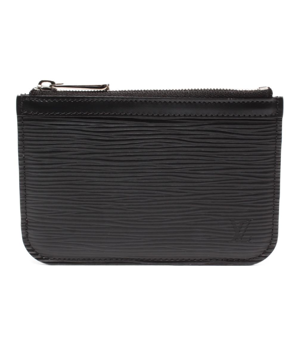 【中古】美品 ルイヴィトン コインケース ポシェットクレNM エピ M66602 メンズ Louis Vuitton