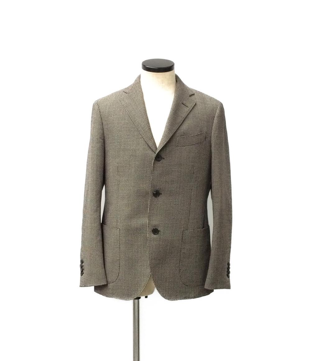 【中古】美品 ラルディーニ 3B テーラードジャケット メンズ SIZE 48 (L) lardini