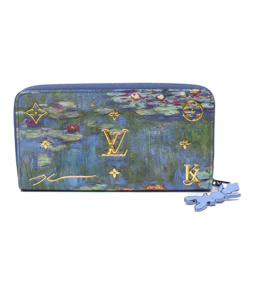 【中古】美品 ルイヴィトン ラウンドファスナー ジッピー・ウォレット マスターコレクション M64631 レディース Louis Vuitton