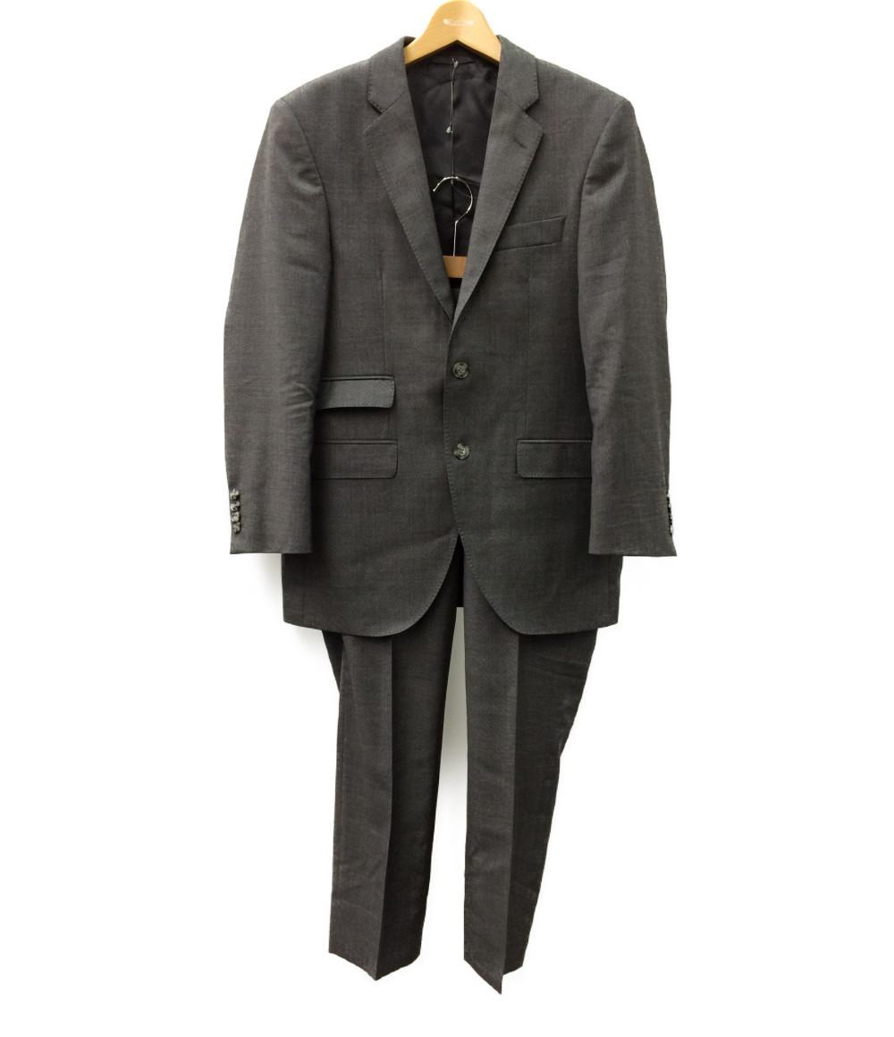 【中古】美品 ハケットロンドン ノッチドラペル2Bスーツ メンズ SIZE 38R (M) HACKETT LONDON