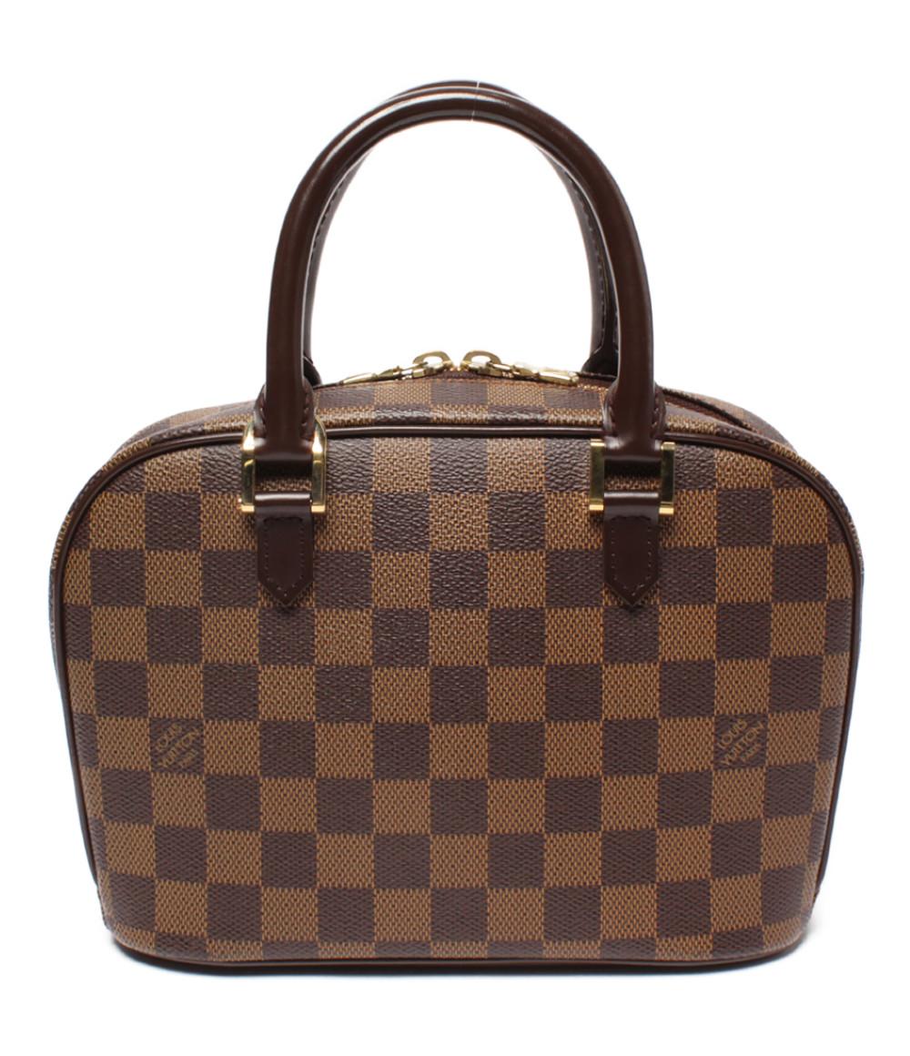 【中古】美品 ルイヴィトン ハンドバッグ サリアミニ ダミエ エベヌ N51286 レディース Louis Vuitton