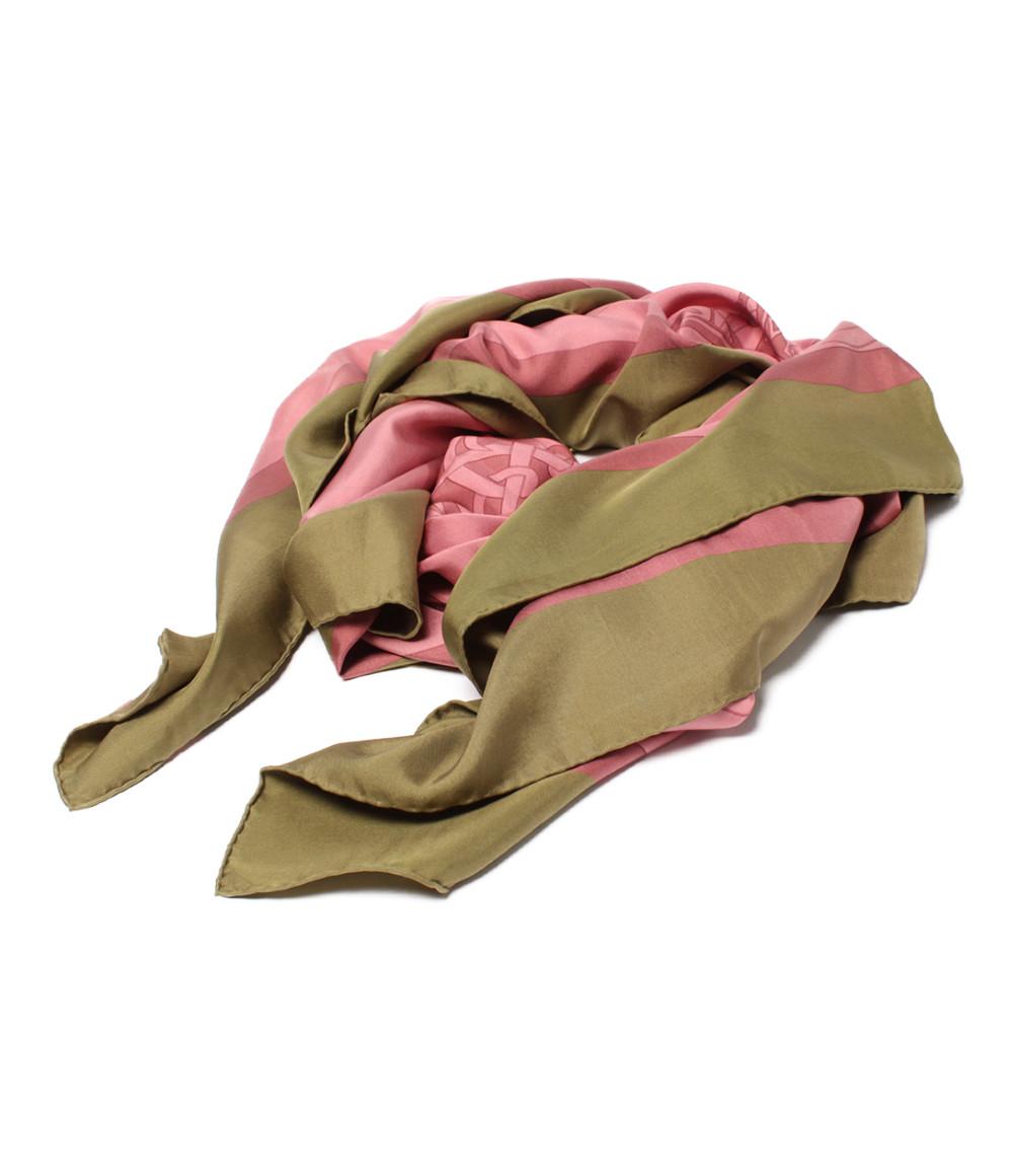 【5/5全品ポイント10倍】【中古】エルメス カレ140 dip dye レディース HERMES