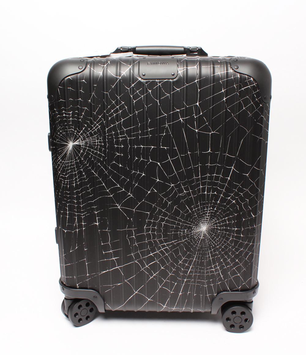 【中古】美品 シュプリーム キャリー 旅行カバン リモワ Cabin Plus 49L スパイダーウェブ 9259003890 ユニセックス Supreme RIMOWA