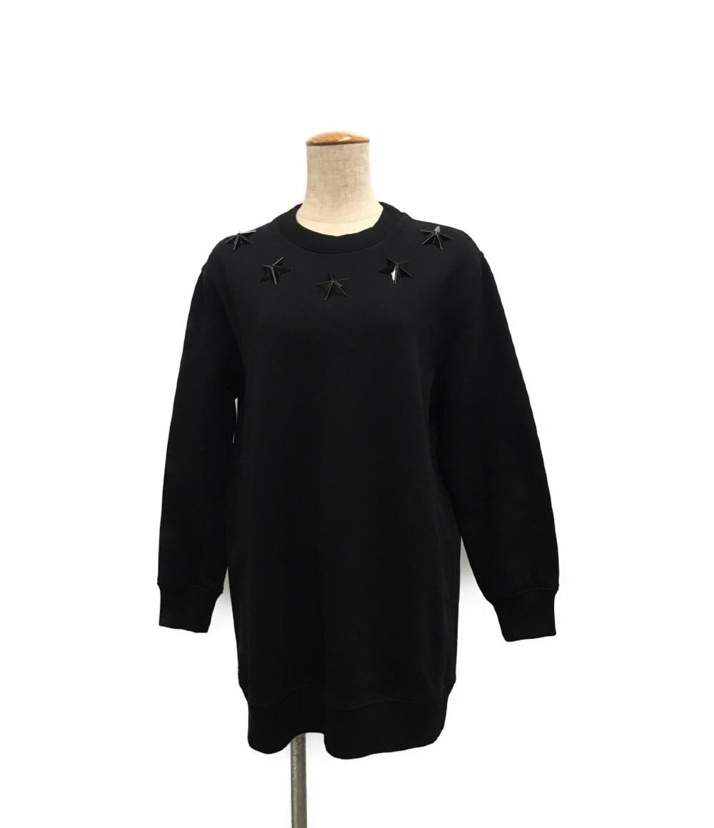 【中古】美品 ジバンシー 17AW スター装飾スウェット レディース SIZE XS (XS以下) GIVENCHY