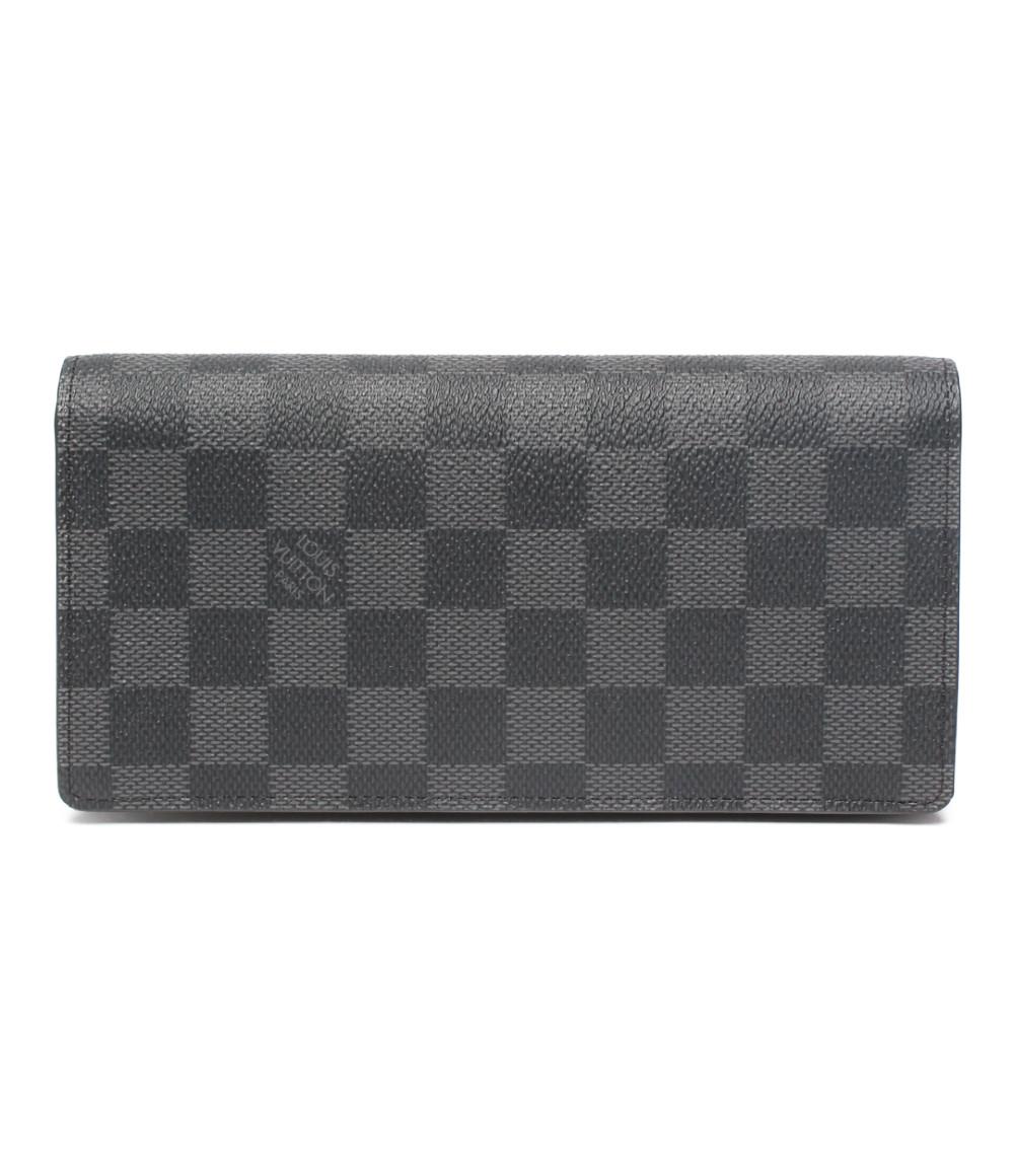 【中古】ルイヴィトン 長財布 ポルトフォイユプラザ ダミエグラフィット N60193 メンズ Louis Vuitton