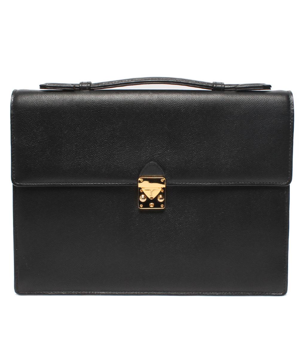 【5/5全品ポイント10倍】【中古】イヴサンローラン ビジネスバッグ ユニセックス Yves saint Laurent