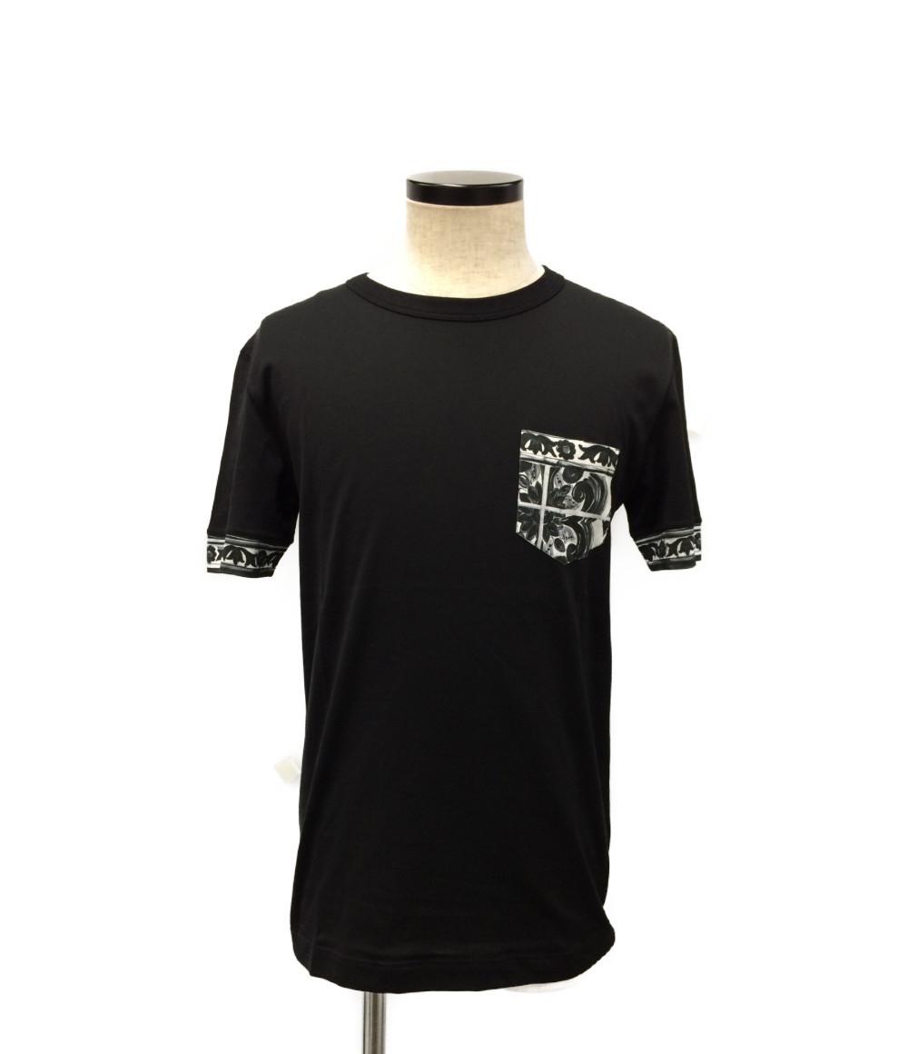 【中古】美品 ドルチェアンドガッバーナ 半袖Tシャツ メンズ SIZE 44 (S) DOLCE&GABBANA
