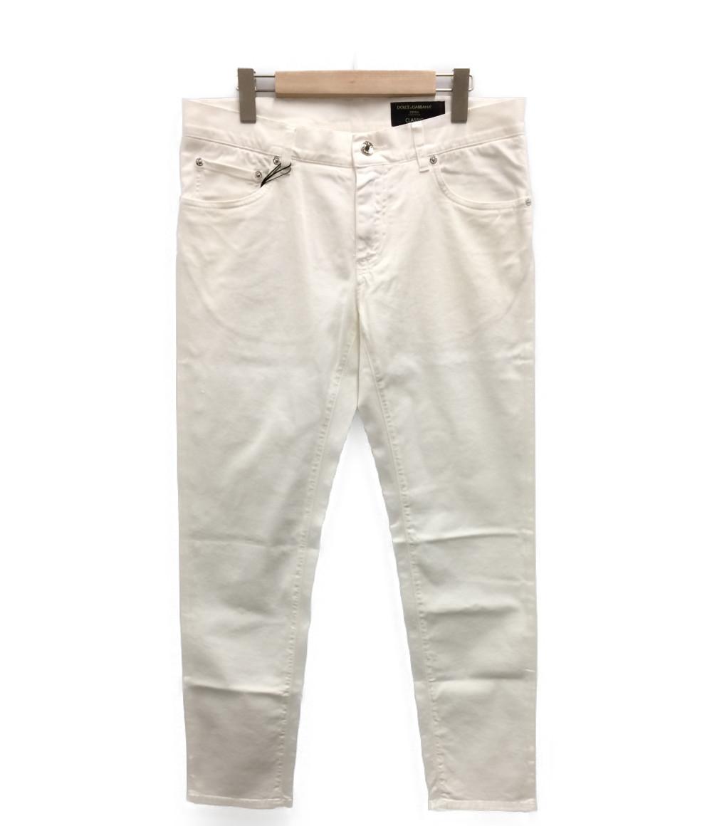 【中古】美品 ドルチェアンドガッバーナ ストレッチ パンツ メンズ SIZE 50 (L) DOLCE&GABBANA