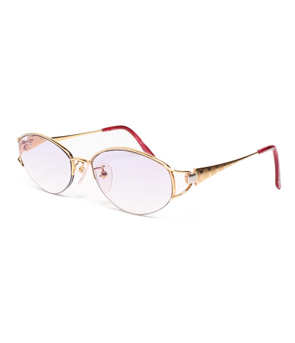 【5/5全品ポイント10倍】【中古】コンテス 度入り眼鏡 CM-813 52□17 レディース COMTESSE