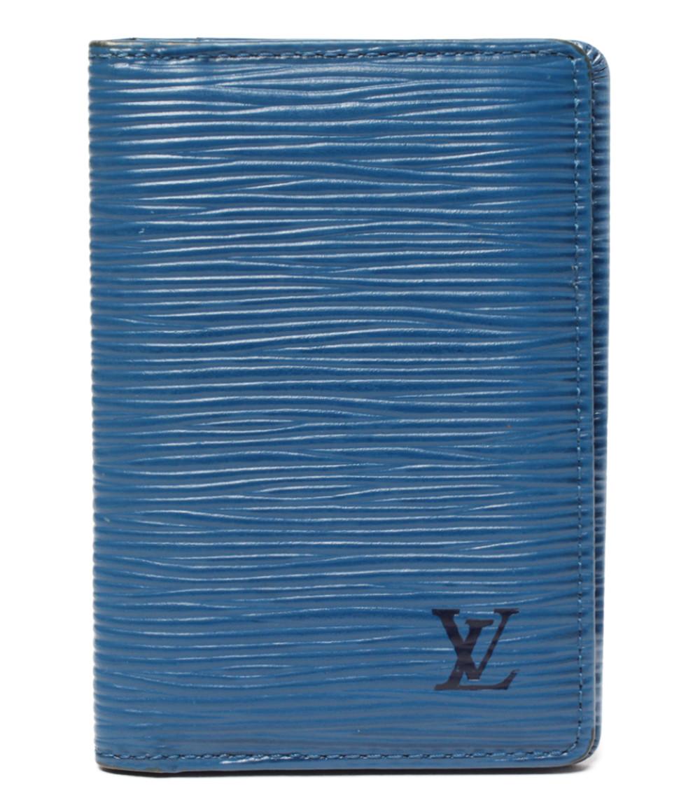 【5/5全品ポイント10倍】【中古】ルイヴィトン カードケース オーガナイザー ドゥ ポッシュ エピ M63585 ユニセックス Louis Vuitton