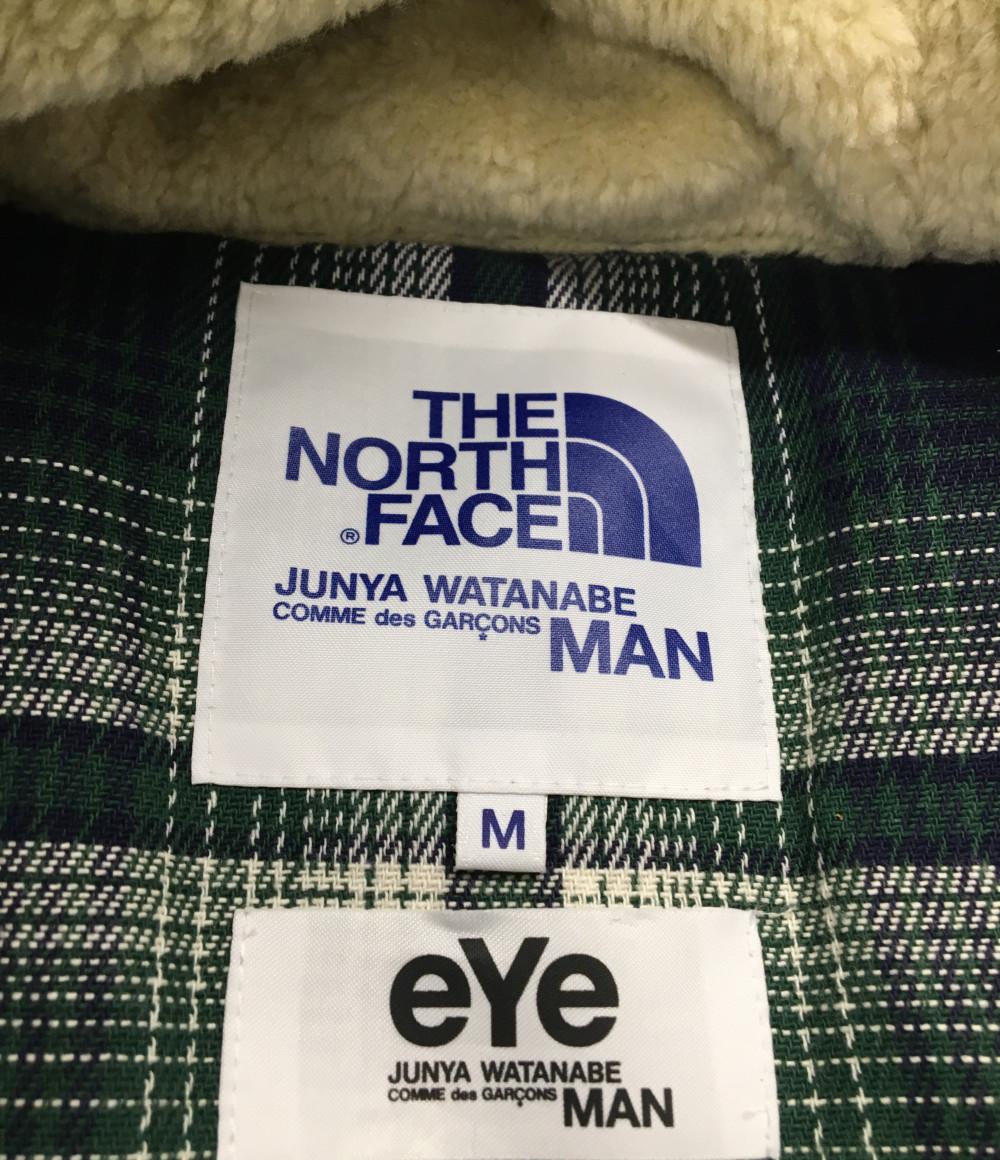 美品 アイ ジュンヤワタナベ マン ダウンジャケット THE NORTH FACE WT J914 メンズ SIZE MMeye JUNYA WATANABE MANmN8n0w