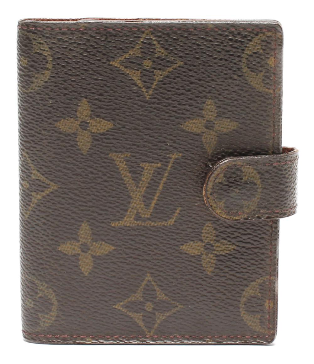 【中古】ルイヴィトン ミニ手帳カバー アジェンダ・ミニ モノグラム R20007 ユニセックス Louis Vuitton
