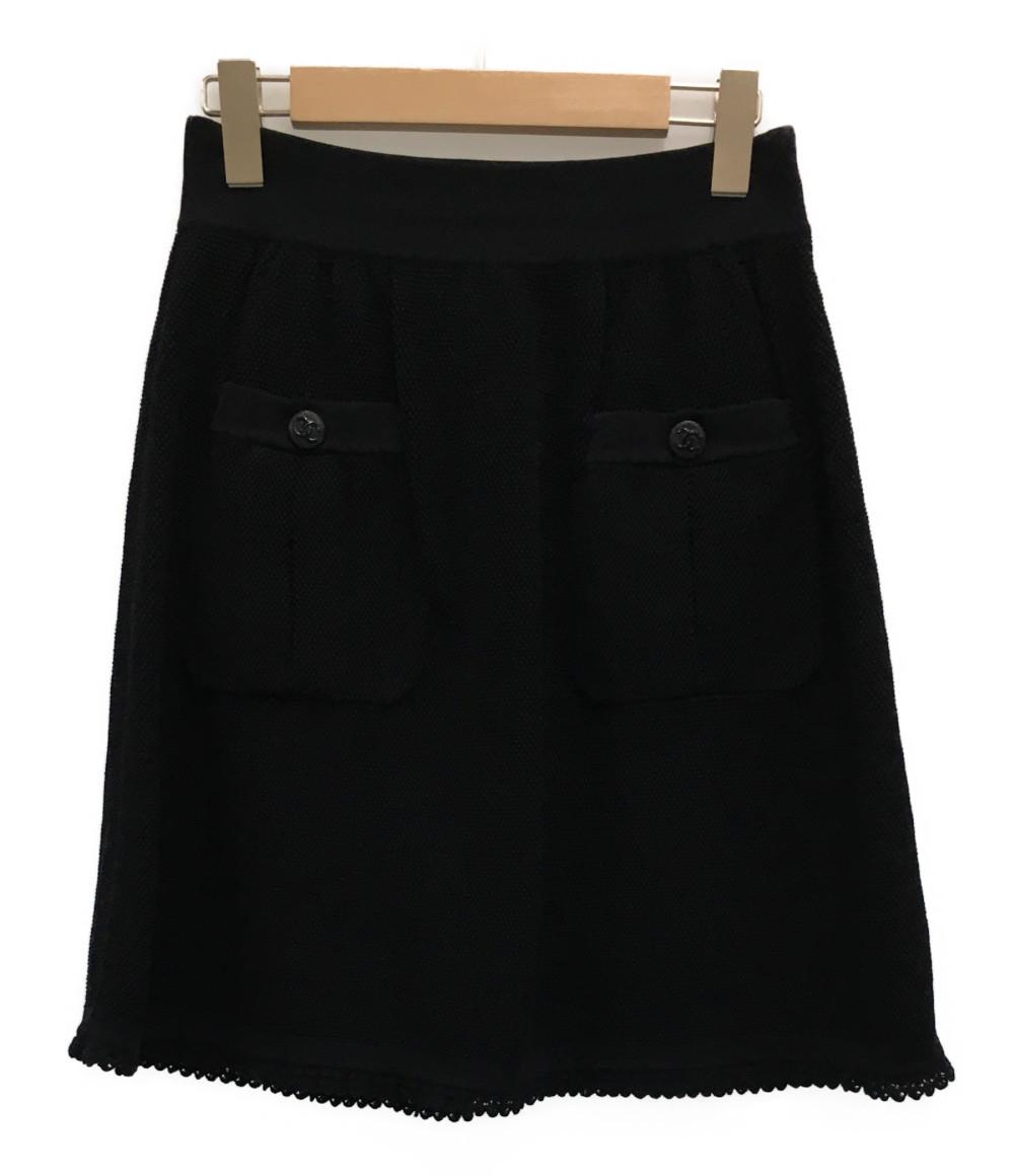 【中古】美品 シャネル スカート レディース SIZE 40 (L) CHANEL