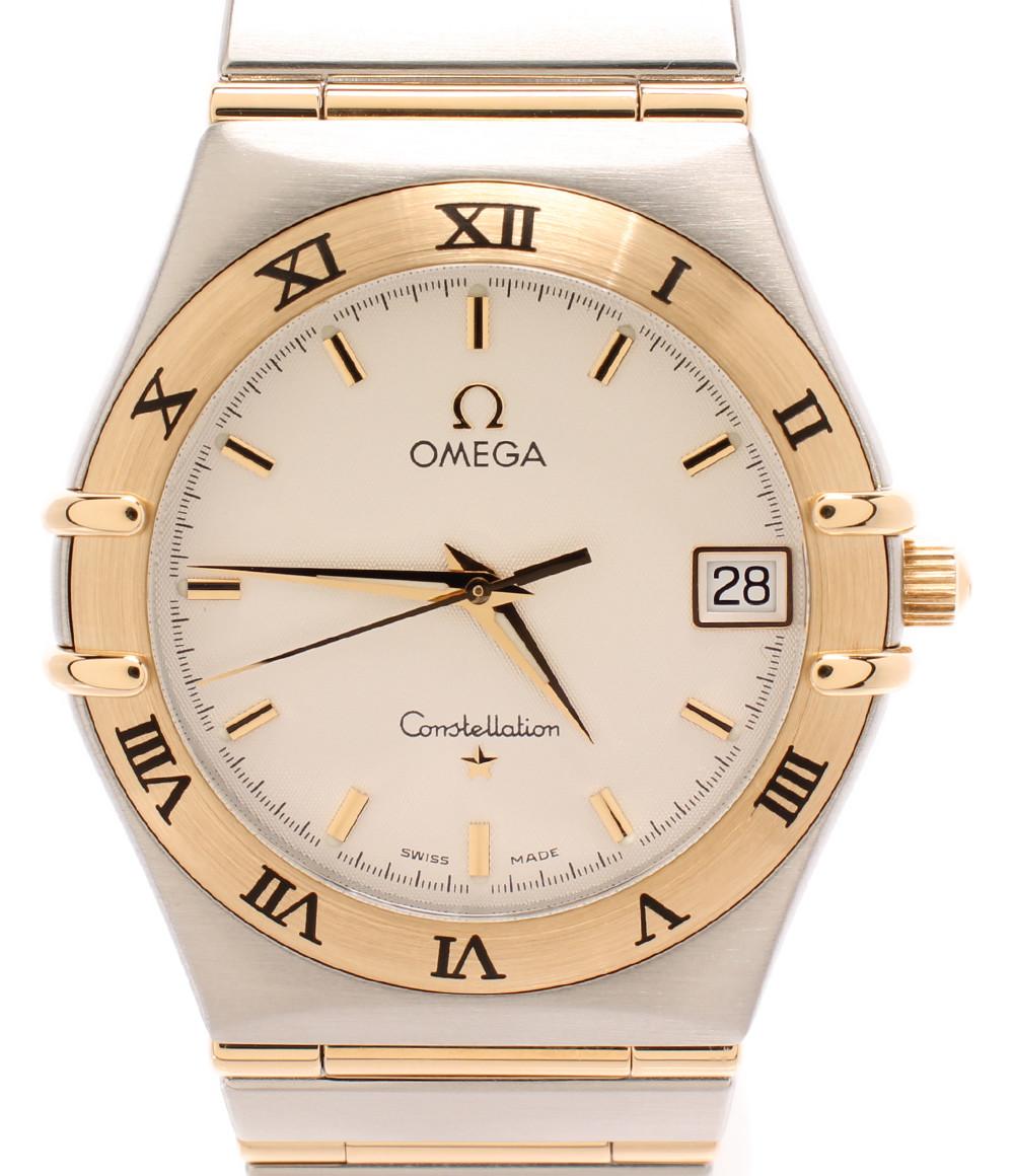 【中古】オメガ 腕時計 コンステレーション クオーツ 396.1201 メンズ OMEGA