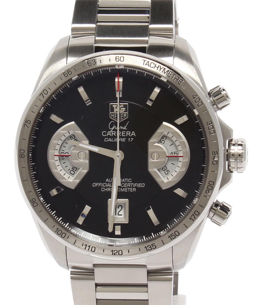 【中古】タグホイヤー 腕時計 CALIBRE 17 GRAND CARRERA 自動巻き CAV511A・BA0902 メンズ TAG Heuer