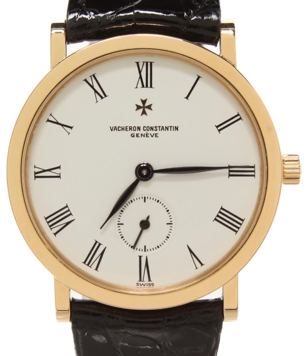 【中古】ヴァシュロンコンスタンタン 腕時計 エッセンシャル 手動巻き メンズ Vacheron Constantin