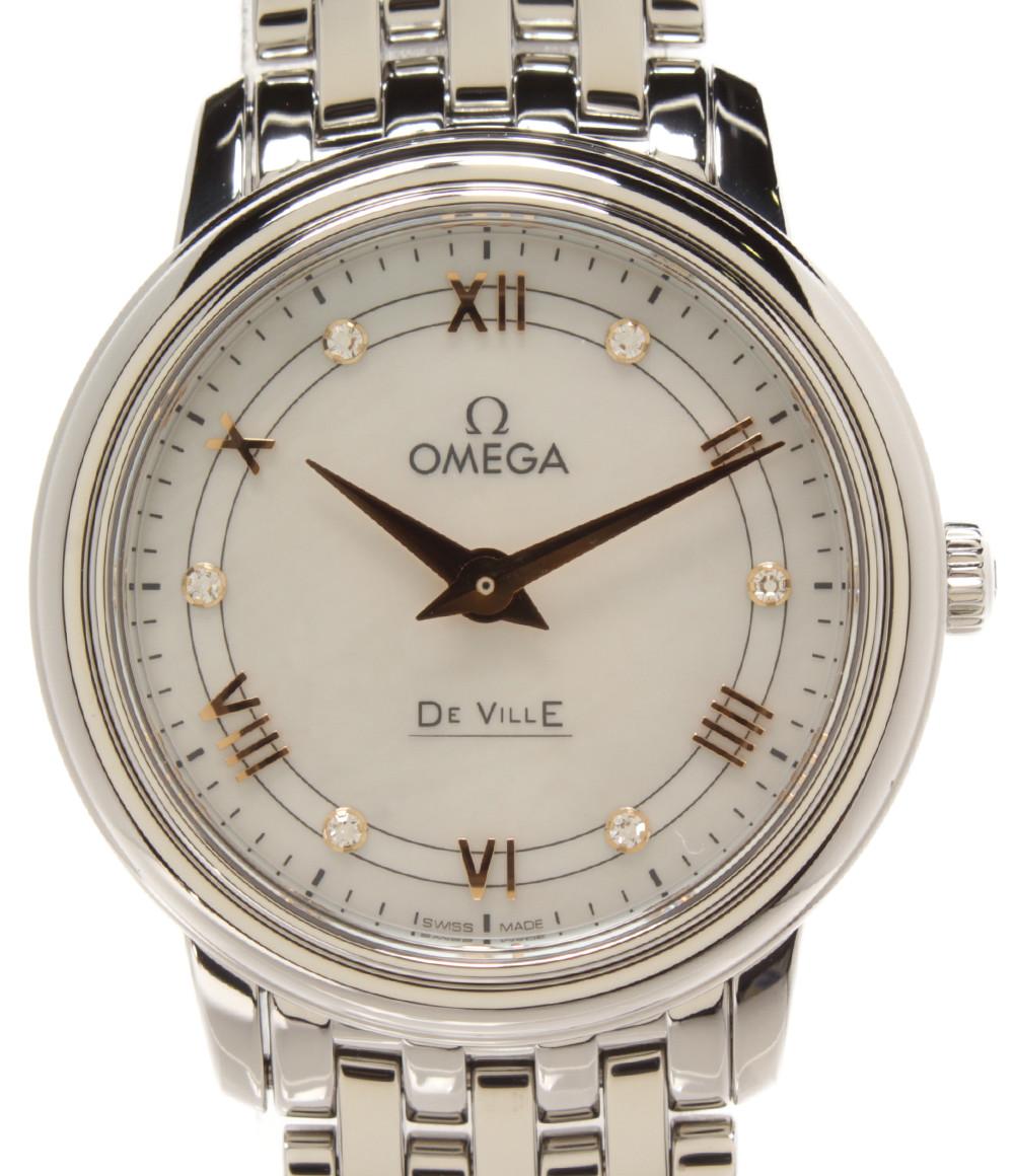 【中古】オメガ 腕時計 デビル クオーツ 42410276055001 レディース OMEGA