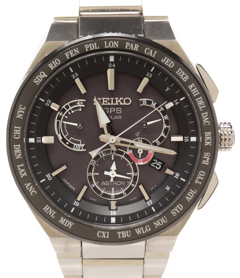 【中古】セイコー 腕時計 アストロン ソーラー 8X53-0AV0 メンズ SEIKO