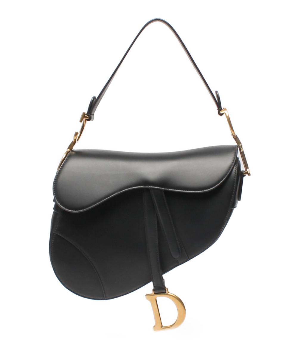 【5/5全品ポイント10倍】【中古】クリスチャンディオール ハンドバッグ サドルバッグ レディース Christian Dior