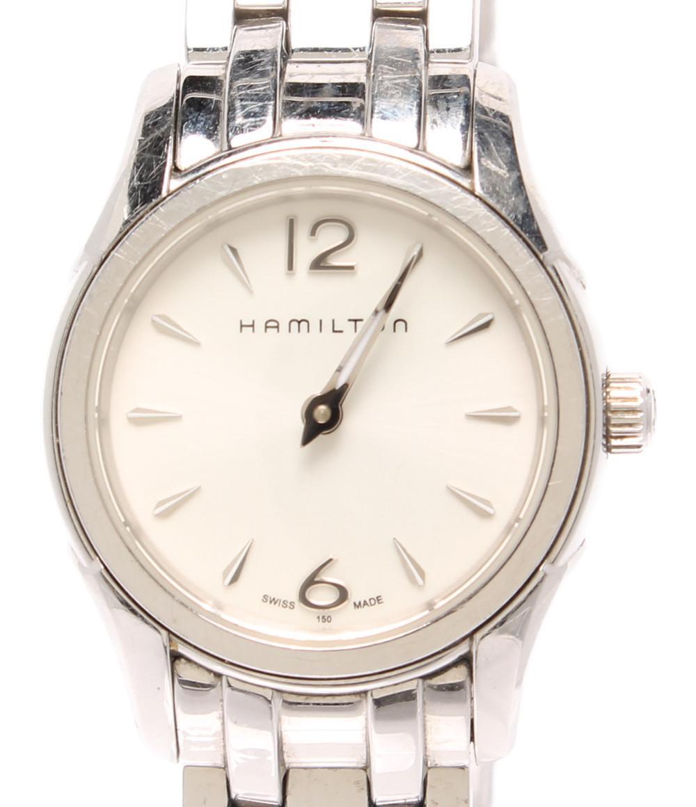 【中古】訳あり ハミルトン 腕時計 ジャズマスター クオーツ H322610 レディース HAMILTON