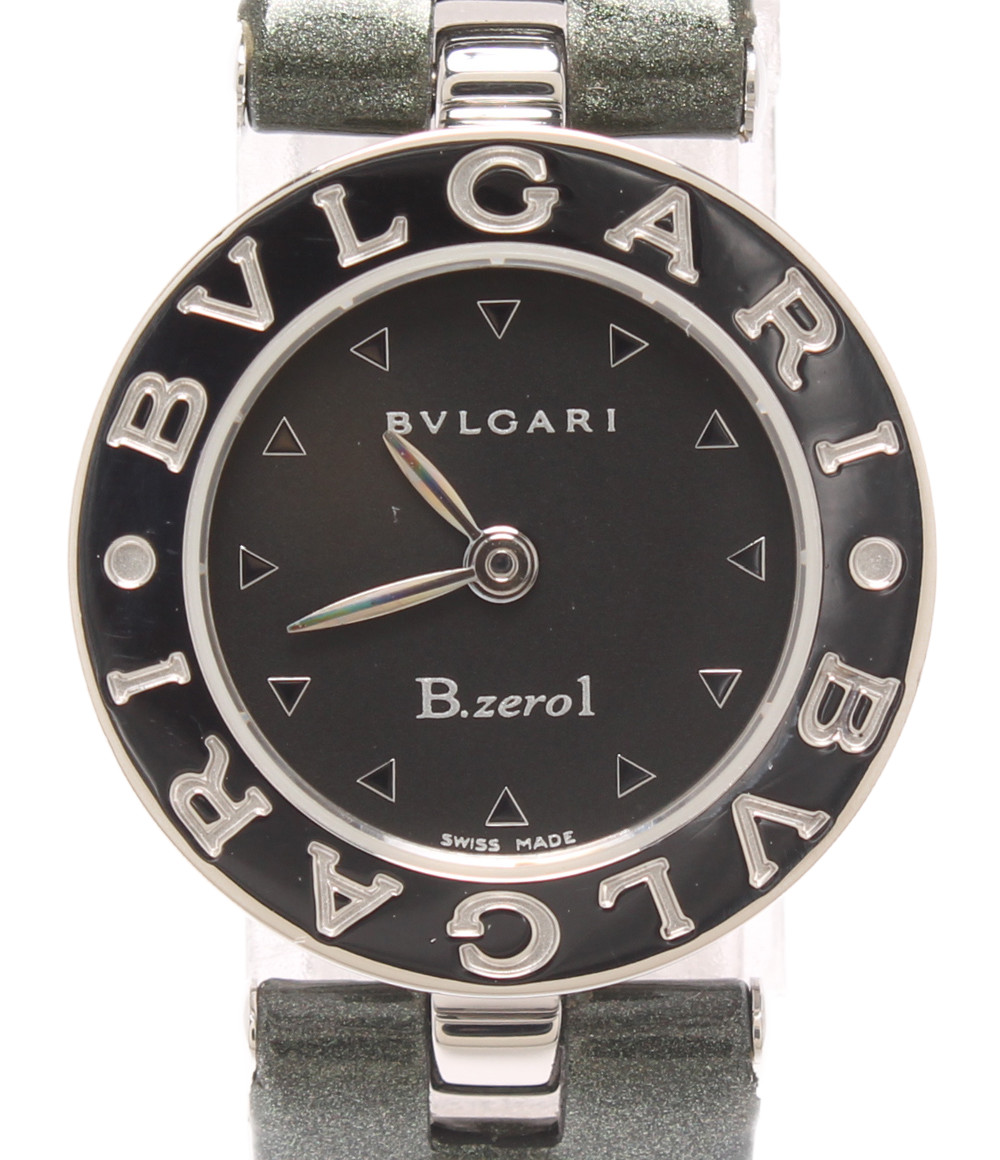 【中古】ブルガリ 腕時計 B-zero1 クオーツ ブラック BZ22S レディース Bvlgari