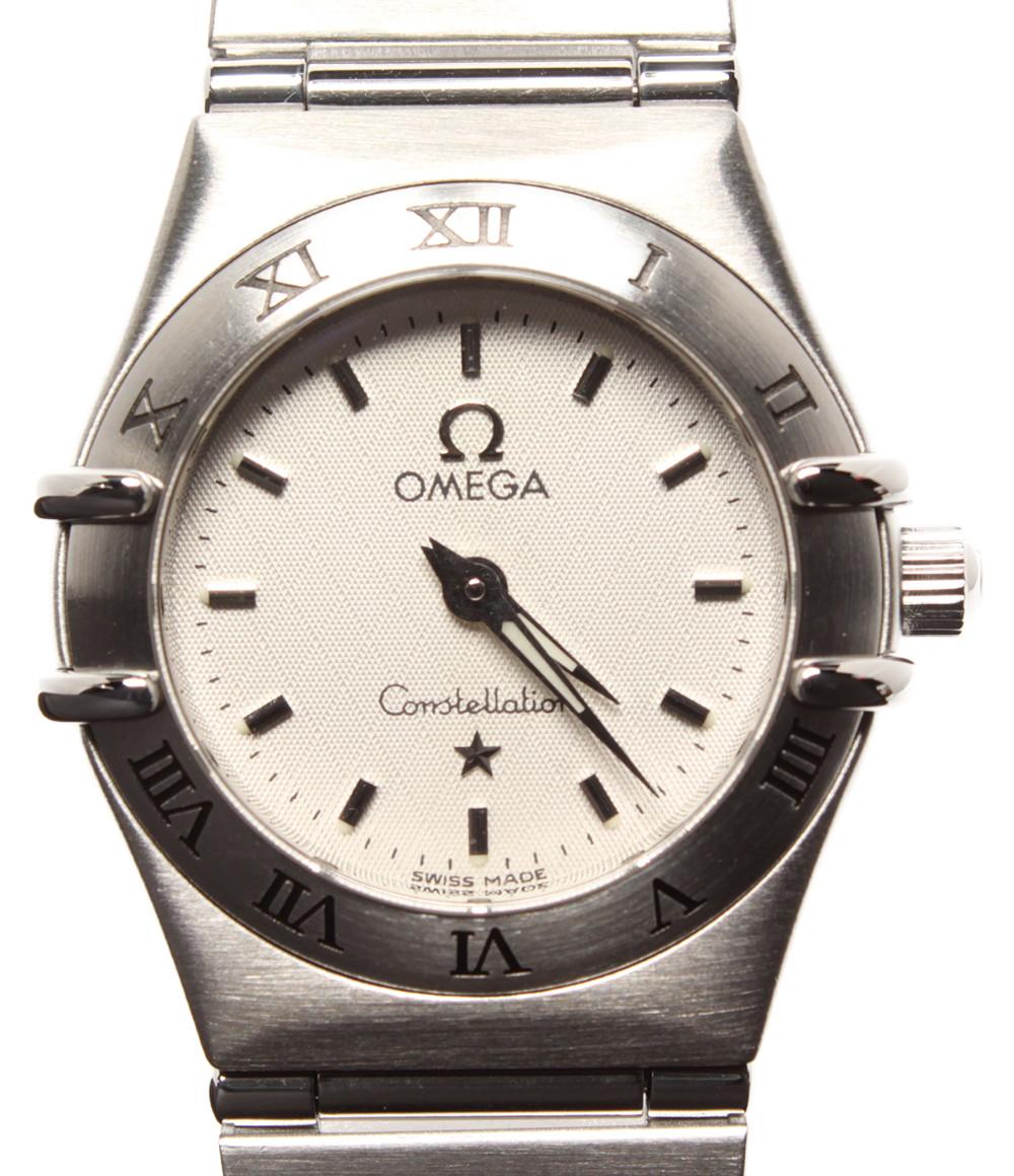 【中古】オメガ 腕時計 コンステレーション クオーツ レディース OMEGA