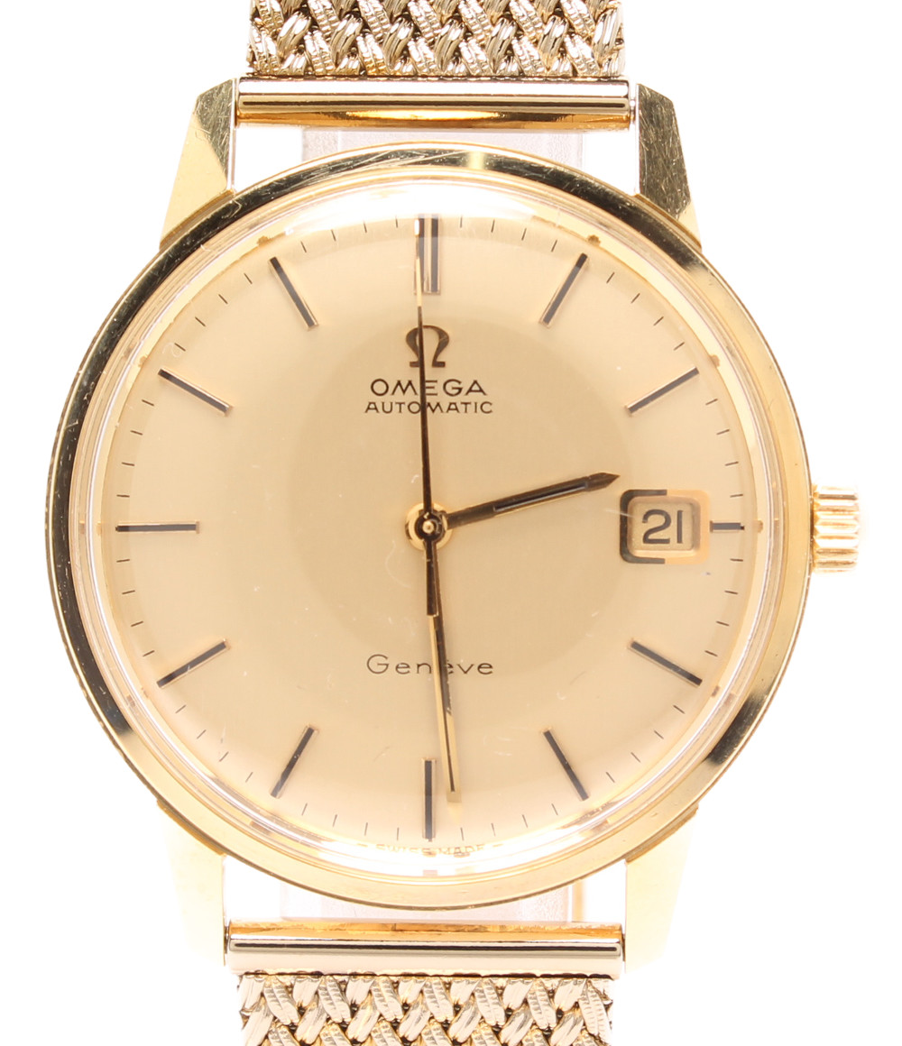 【中古】オメガ 腕時計 自動巻き ゴールド メンズ OMEGA