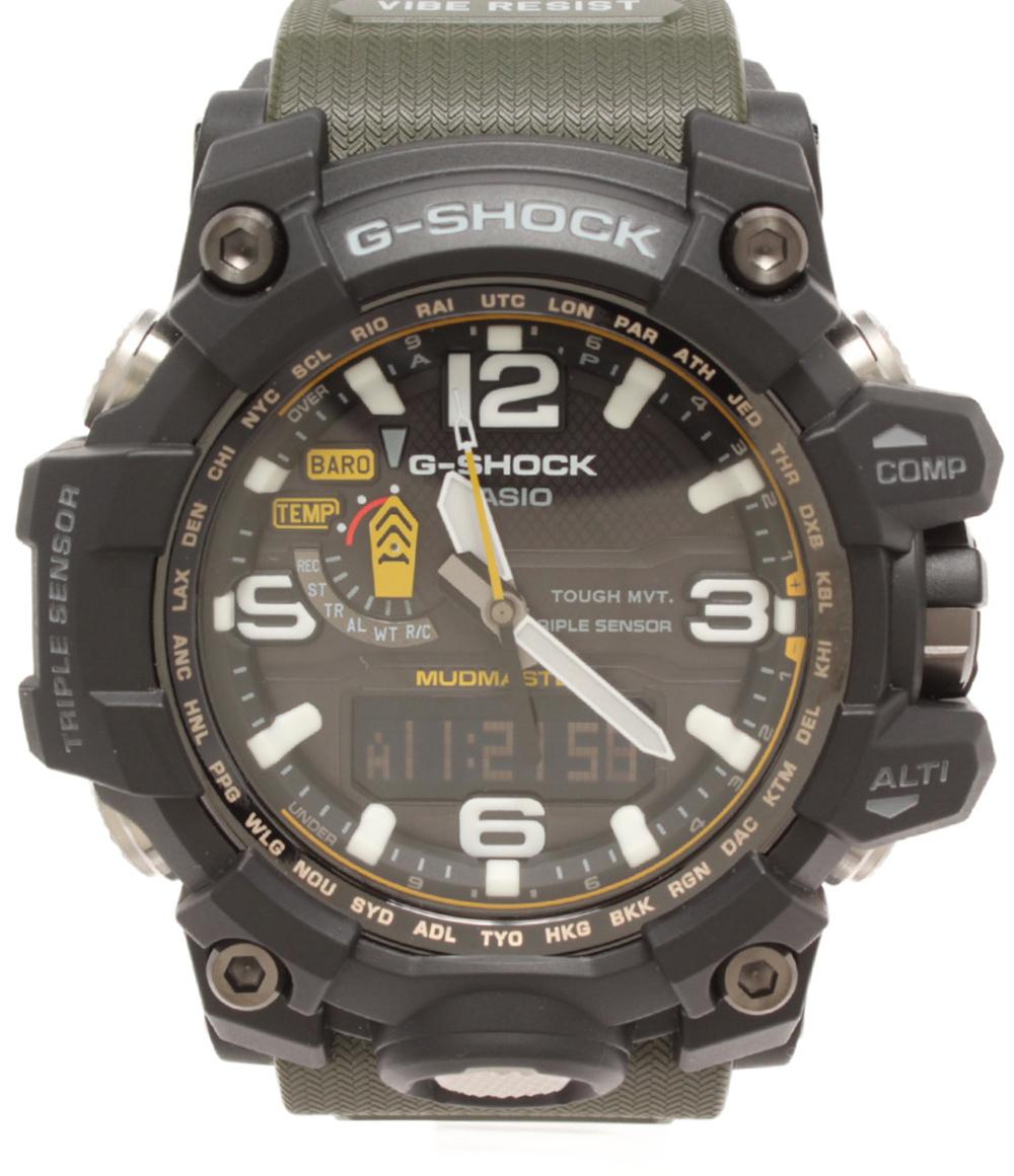 【中古】美品 カシオ 腕時計 G-SHOCK ソーラー GWG-1000G メンズ CASIO