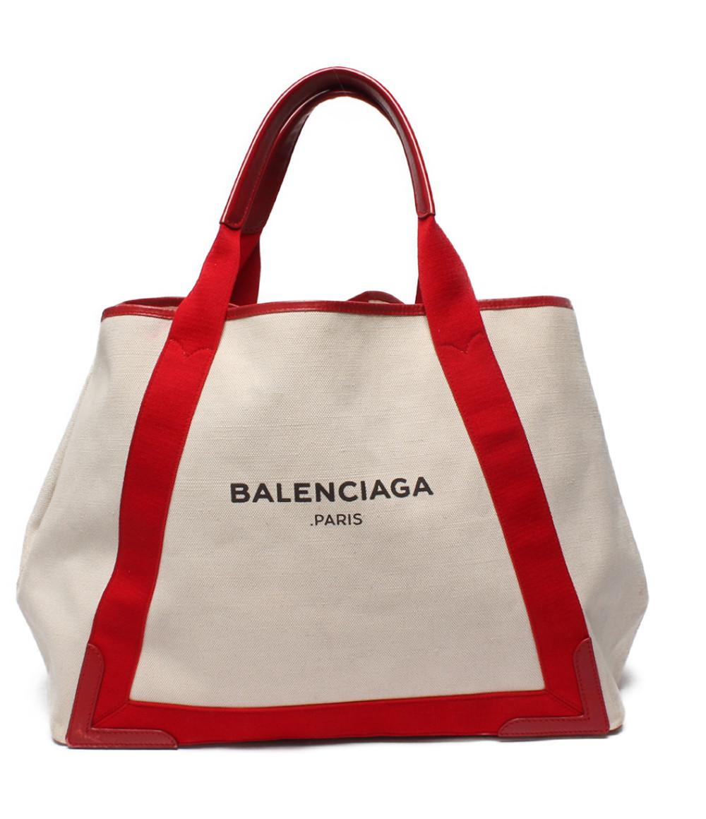 【5/5全品ポイント10倍】【中古】バレンシアガ トートバッグ ネイビーカバスMM 339936.6465.E.002123 レディース Balenciaga