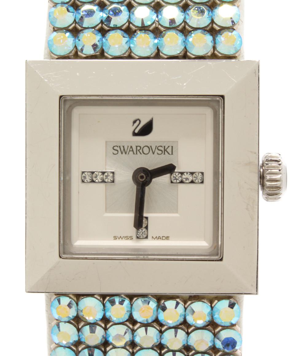 【中古】スワロフスキー 腕時計 エリス クオーツ レディース SWAROVSKI