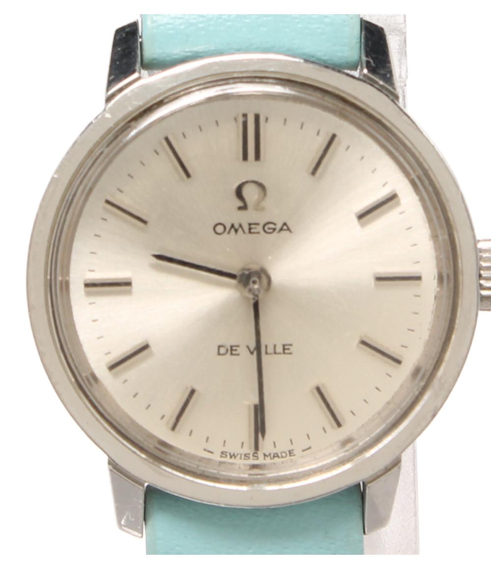 【中古】訳あり オメガ 腕時計 DEVILLE 手巻き TOOL-101 レディース OMEGA