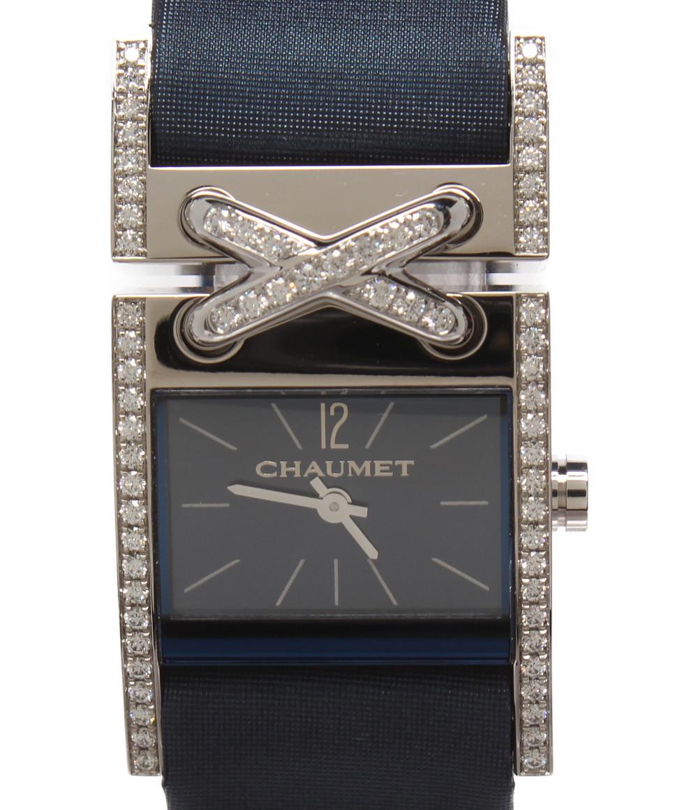 【中古】ショーメ 腕時計 リアン・ドゥ・ショーメ クオーツ レディース CHAUMET