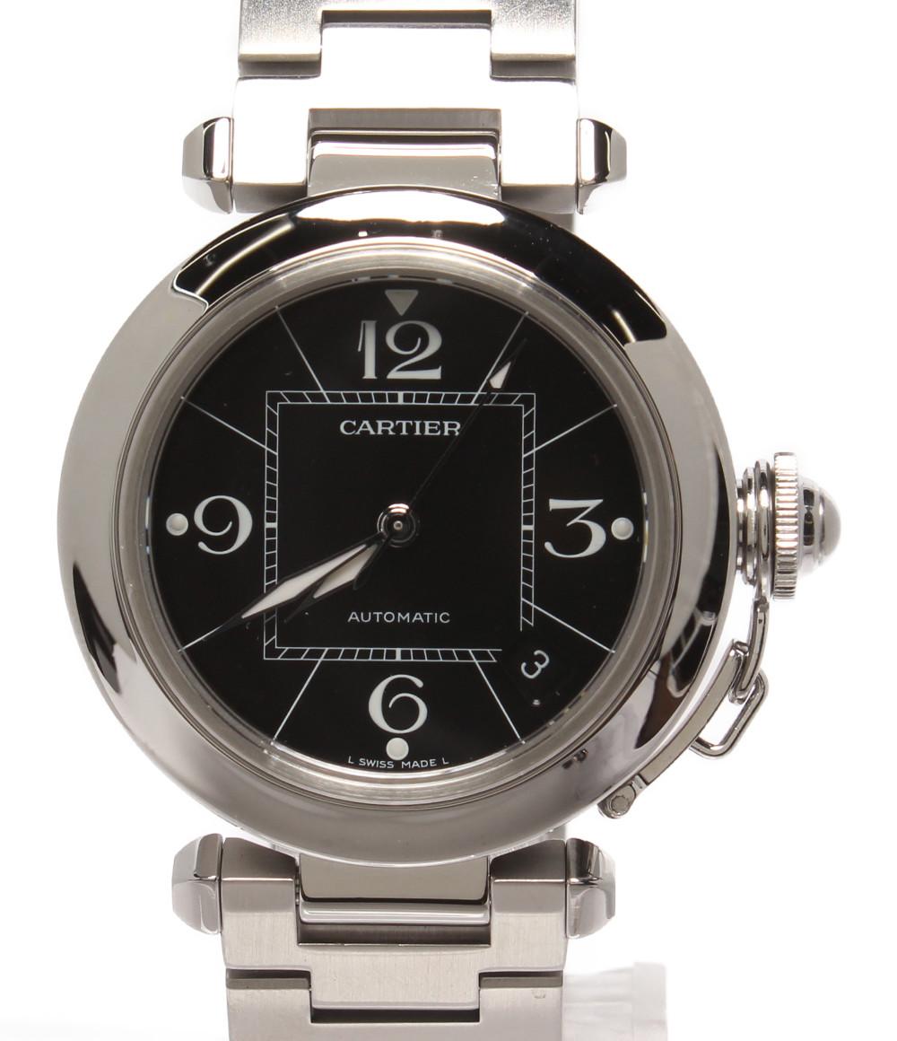 【中古】カルティエ 腕時計 パシャC 自動巻き ブラック W31024M7 2324 ユニセックス Cartier