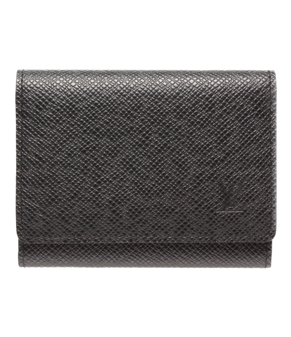 【中古】美品 ルイヴィトン カードケース アンヴェロップ カルトドゥヴィジット タイガ M30922 メンズ Louis Vuitton