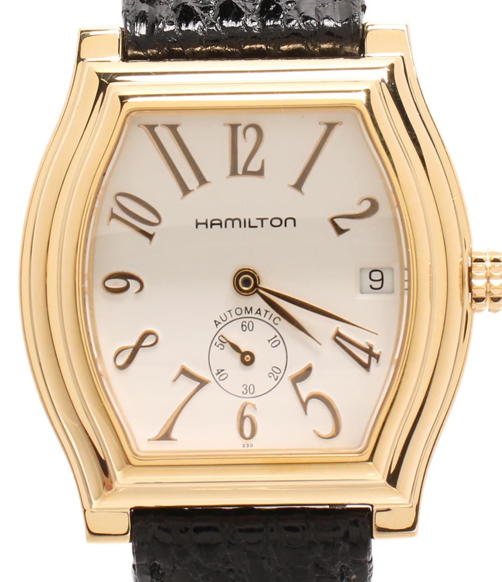 【中古】ハミルトン 腕時計 ダットソン 自動巻き ホワイト H274350 メンズ HAMILTON