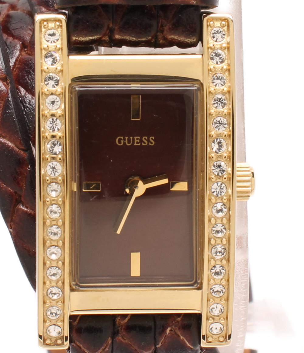 【中古】ゲス 腕時計 W75038L1 クオーツ レディース Guess