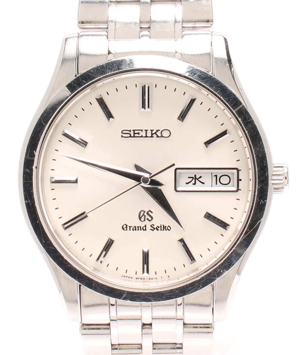 【中古】グランドセイコー 腕時計 クオーツ シルバー 9F83-9A30 メンズ Grand Seiko