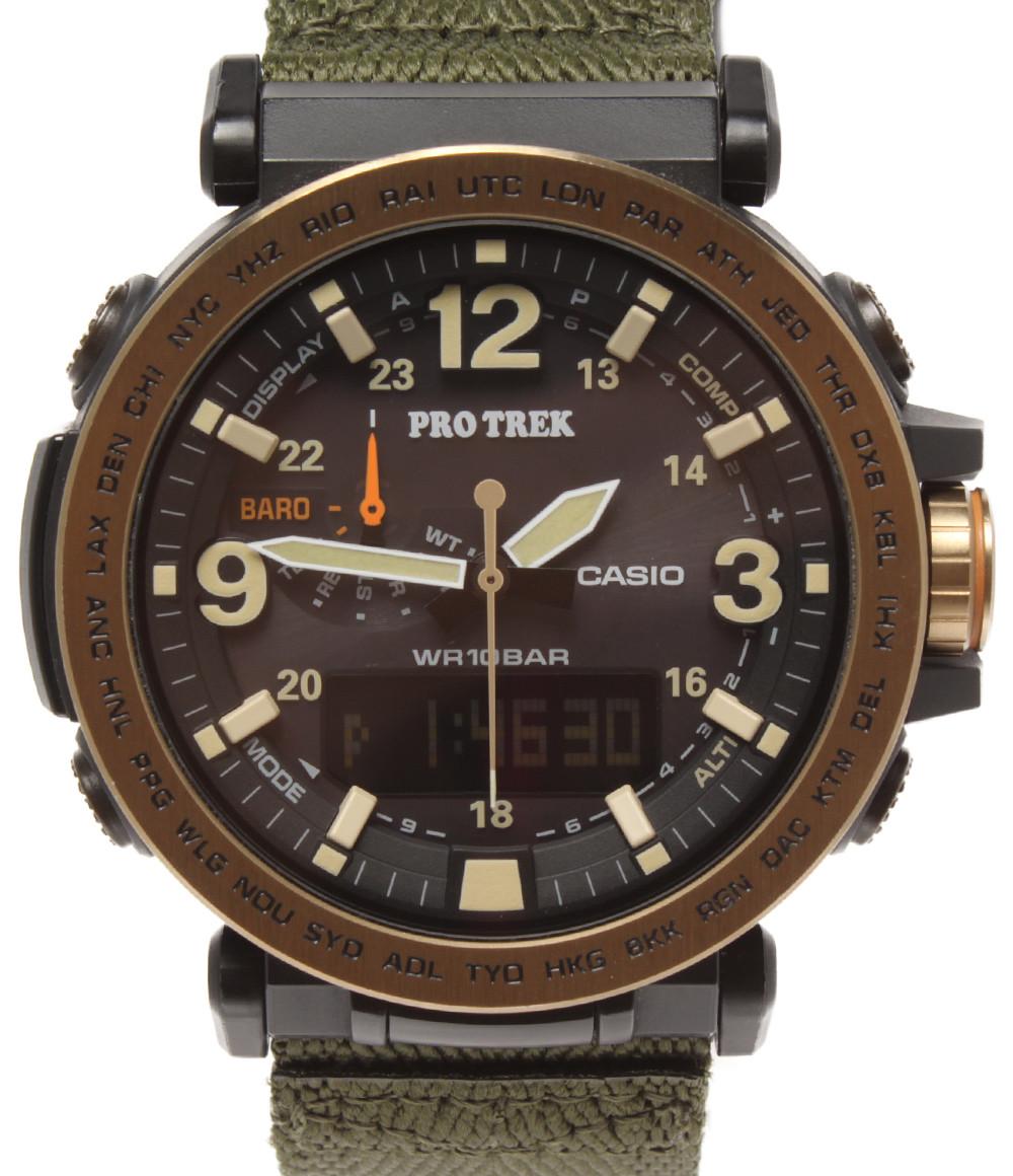 【中古】カシオ 腕時計 プロトレック ソーラー PRG-600YL メンズ CASIO