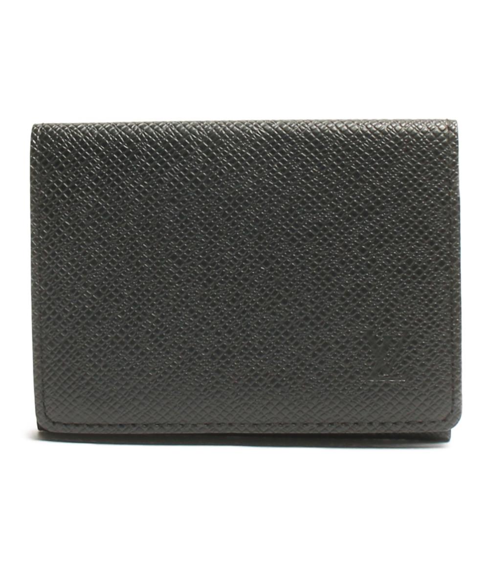 M30922 Vuitton カードケース メンズ アンヴェロッブ・カルト・ヴィジット Louis 【中古】ルイヴィトン タイガ