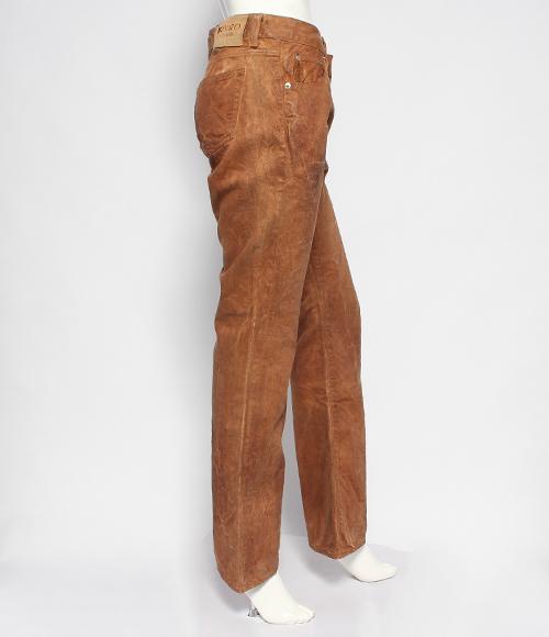 KOHZO DENIM KOZO粗斜纹布彩色牛仔裤28W-32L女士