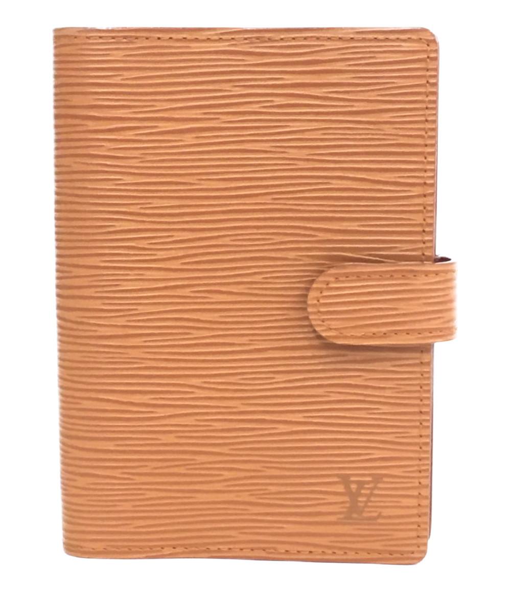 5%OFF セール特価 送料無料 sale 0810 中古 ルイヴィトン 手帳カバー Vuitton 数量限定アウトレット最安価格 エピ R20053 ユニセックス Louis アジェンダPM
