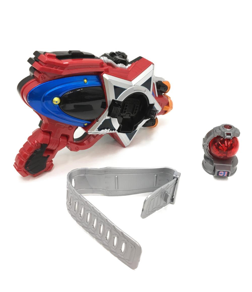爆買い送料無料 25%OFF 高品質 sale 0610 中古 宇宙戦隊キュウレンジャー DXセイザブラスター おもちゃ 玩具 キュータマシリーズ