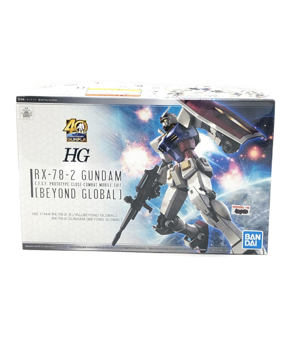 中古 機動戦士ガンダム ガンダム RX-78-2 Beyond Global HG 最新アイテム 1 プラモデル 144 最新号掲載アイテム バンダイ