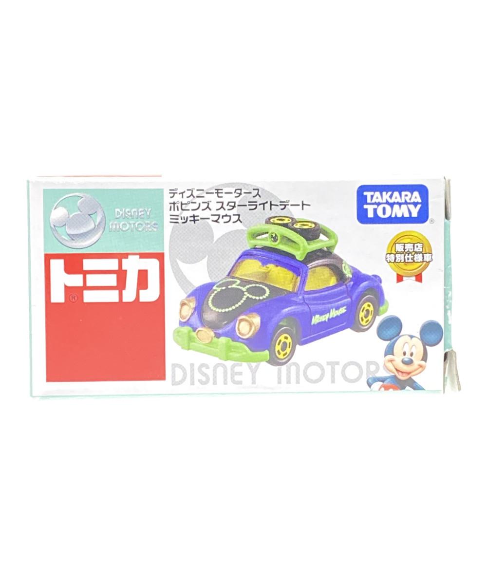中古 美品 ディズニー 未使用 トミカ 商舗 ポピンズ タカラトミー ミッキーマウス ミニカー スターライトデート